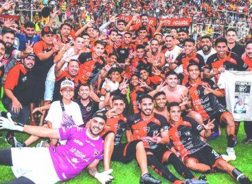 Andino es tricampeón del fútbol riojano
