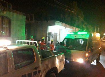Incendio dejó dos personas heridas con quemaduras de primer grado