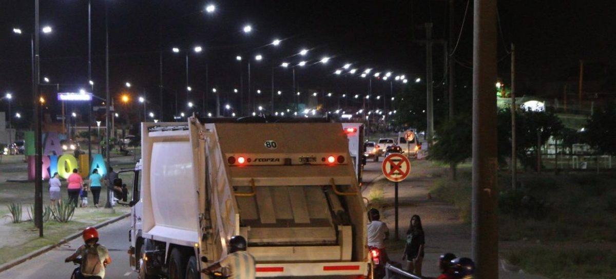 Con camiones alquilados, buscan normalizar la recolección de residuos
