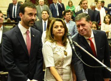 Juraron los nuevos diputados nacionales: Casas, Soria y alvarez