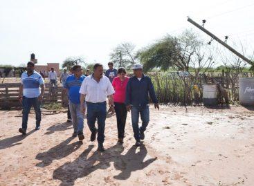 Hubo asistencia a la zona rural de Capital afectada por temporal