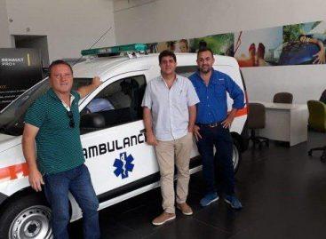 Ambulancia para Chilecito y disculpas a Abel Pintos