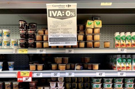No prorrogan quita del IVA a alimentos de canasta básica y hay aumentos
