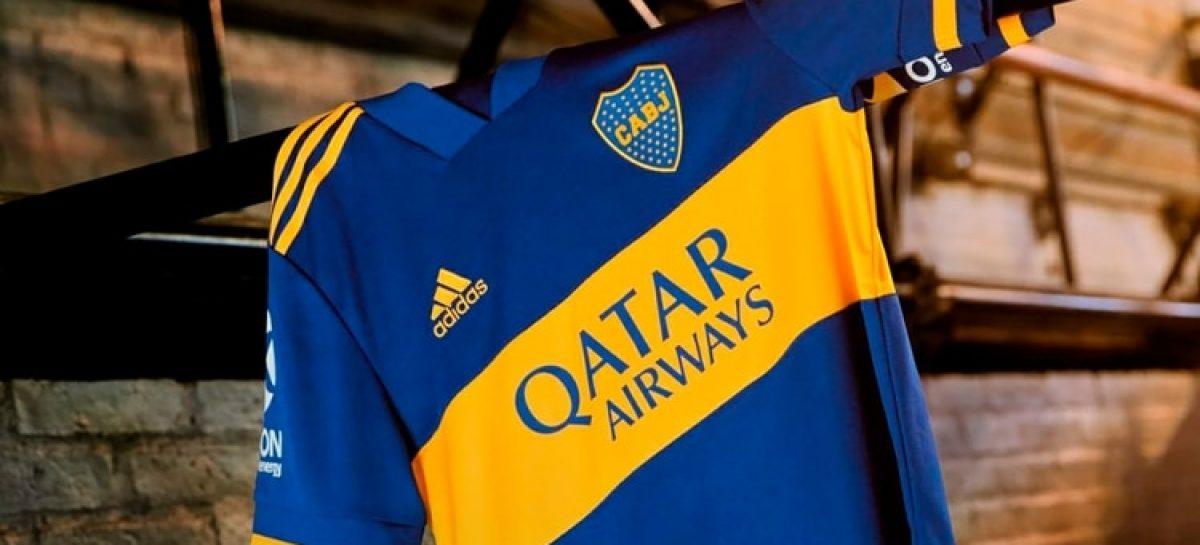 Boca presentó su nueva camiseta de la mano de Adidas