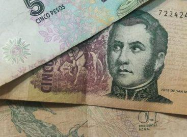 Este domingo salen de circulación los billetes de $5