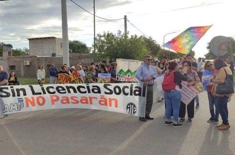 Volvieron las marchas anti mineras: esta vez en Chepes