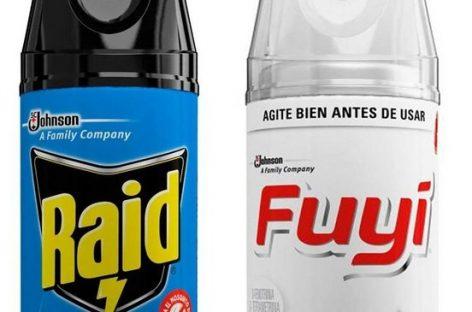 ANMAT exigió el retiro preventivo de insecticidas Raid y Fuyi