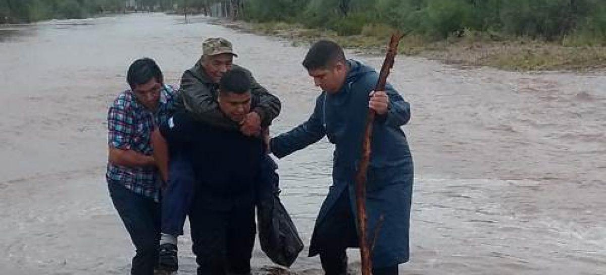 Temporal afectó a Catuna: varias familias fueron evacuadas