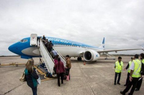 Desde julio, Aerolineas Argentina duplica frecuencias a La Rioja