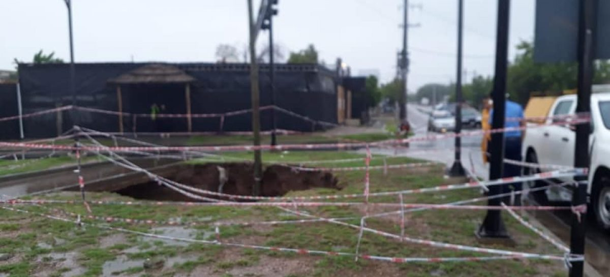 124 milímetros de lluvia expusieron la peor cara de la Capital