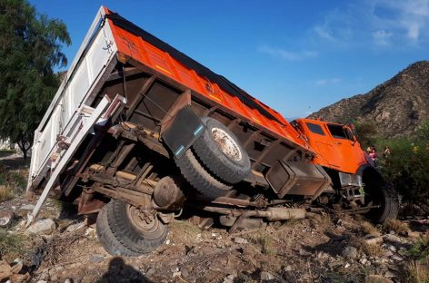 Chilecito. Camión sin frenos no causó tragedia de milagro
