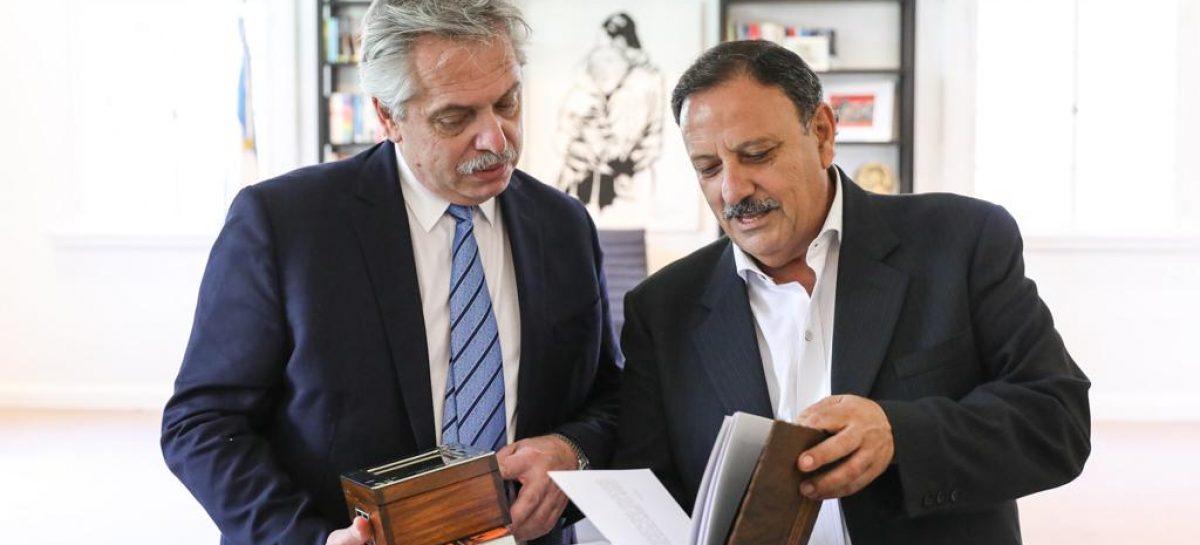Quintela le llevó a Fernández urgencias financieras y proyecto de desarrollo