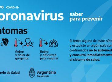 Coronavirus. Nación otorgó una licencia extraordinaria para quienes viajaron al exterior