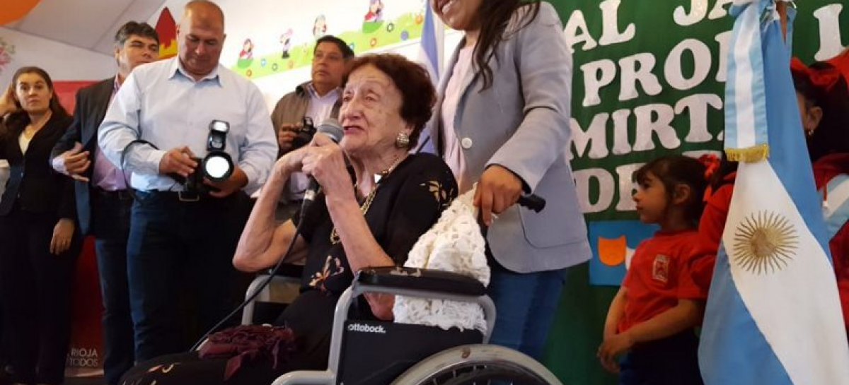Falleció la autora del Himno de La Rioja: Leila Mirta Marasco de Bilmezis