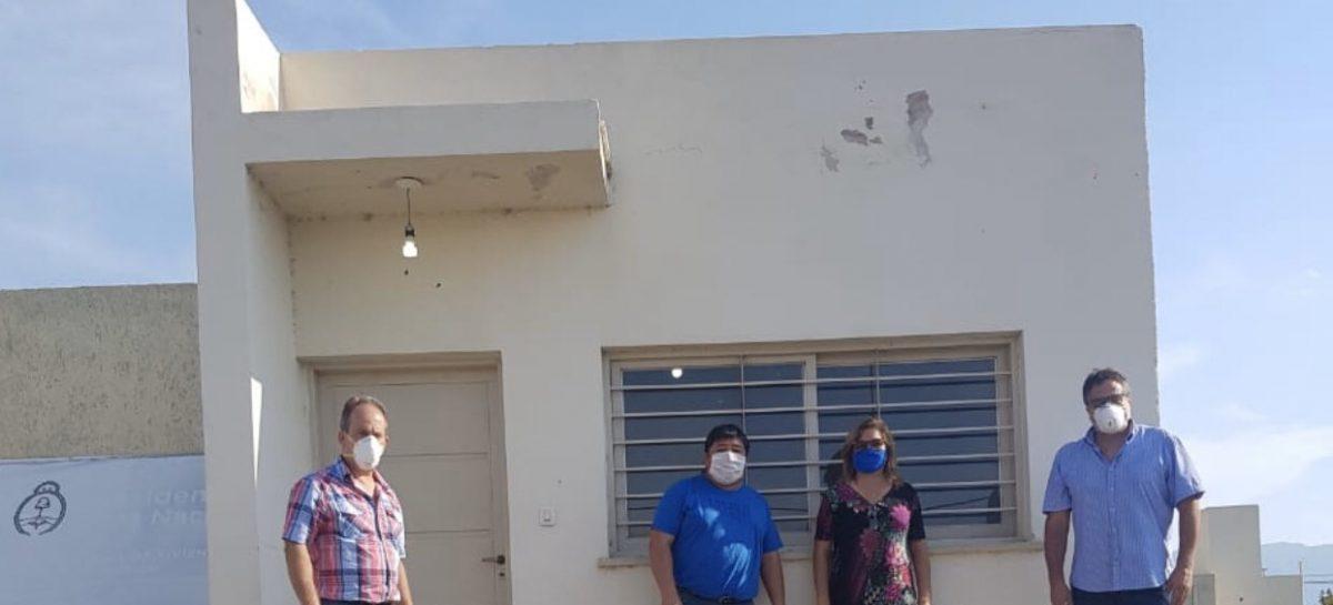 CUENTA REGRESIVA PARA ENTREGAR 90 VIVIENDAS SOCIALES EN CHAMICAL