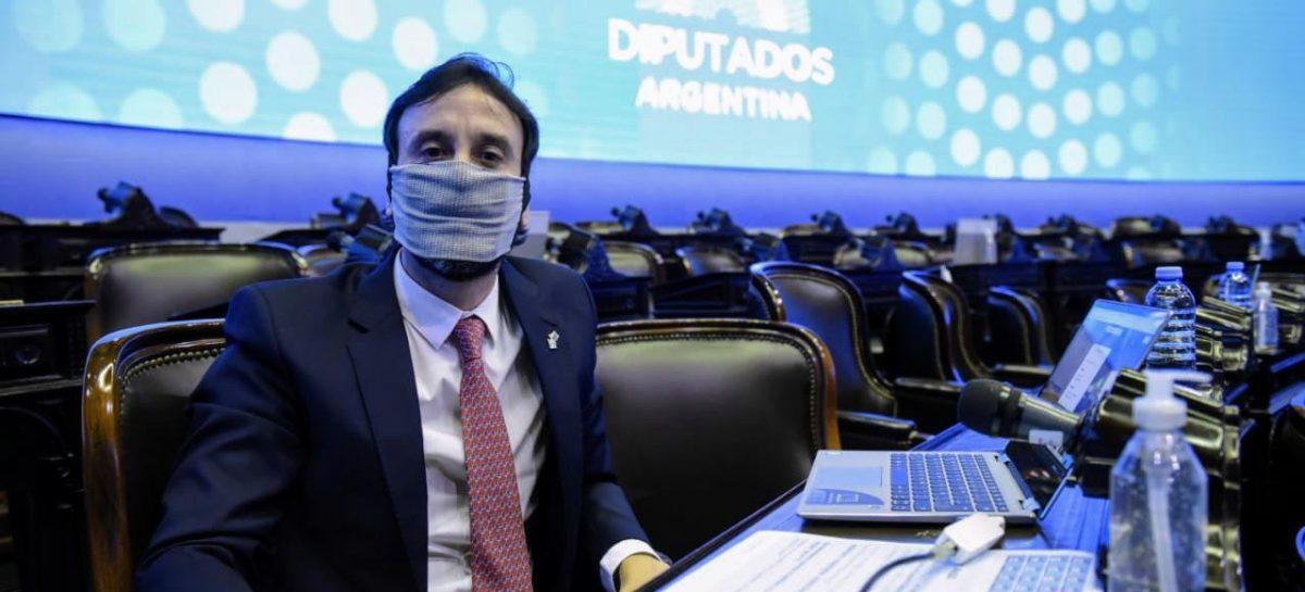 FELIPE ALVAREZ RESPALDÓ LAS SESIONES VIRTUALES EN DIPUTADOS