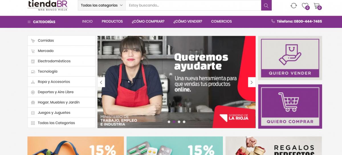 BANCO RIOJA LANZÓ SU TIENDA ELECTRÓNICA: WWW.TIENDABR.COM.AR