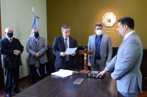 LA JUSTICIA RIOJANA PUSO EN FUNCIONES A DOS NUEVOS JUECES EN CAPITAL