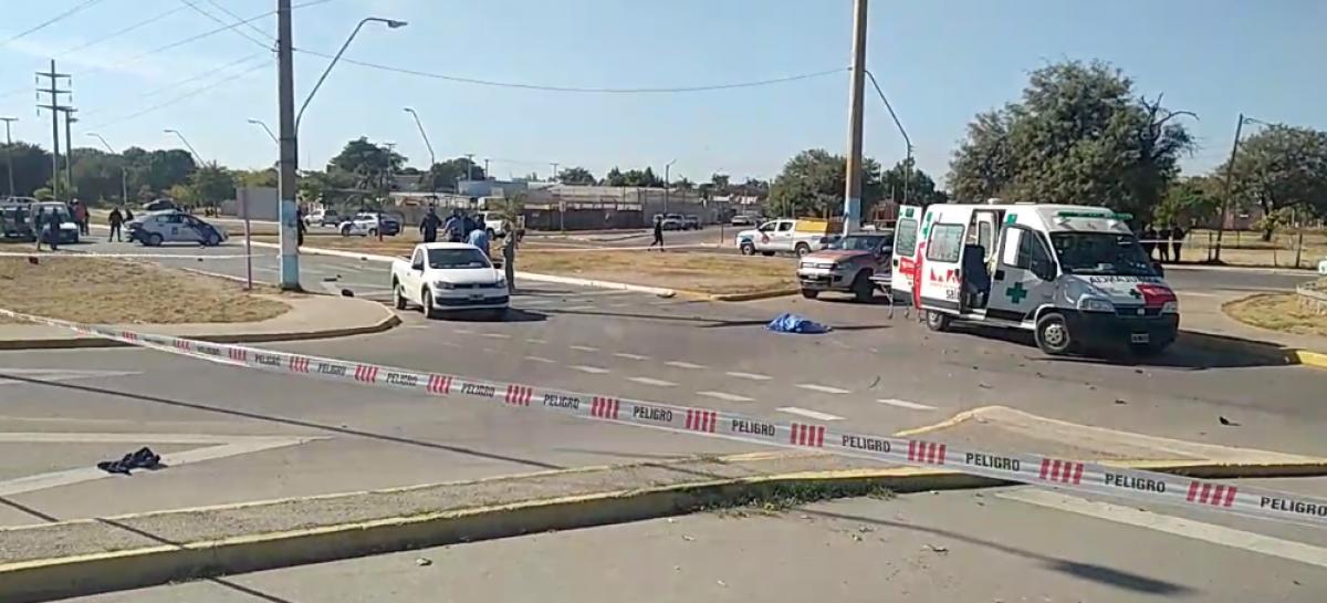 AVENIDA 2 DE ABRIL, EPICENTRO DE TRÁGICO ACCIDENTE: UNA VÍCTIMA FATAL