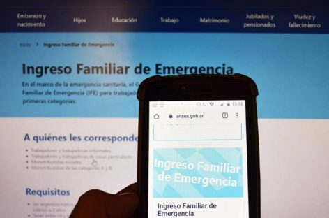 86.901 PERSONAS FUERON BENEFICIADAS POR EL IFE EN LA RIOJA