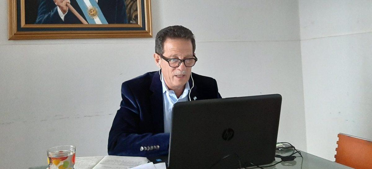 CORONAVIRUS. EL DIPUTADO NACIONAL JULIO SAHAD CONFIRMÓ QUE DIO POSITIVO