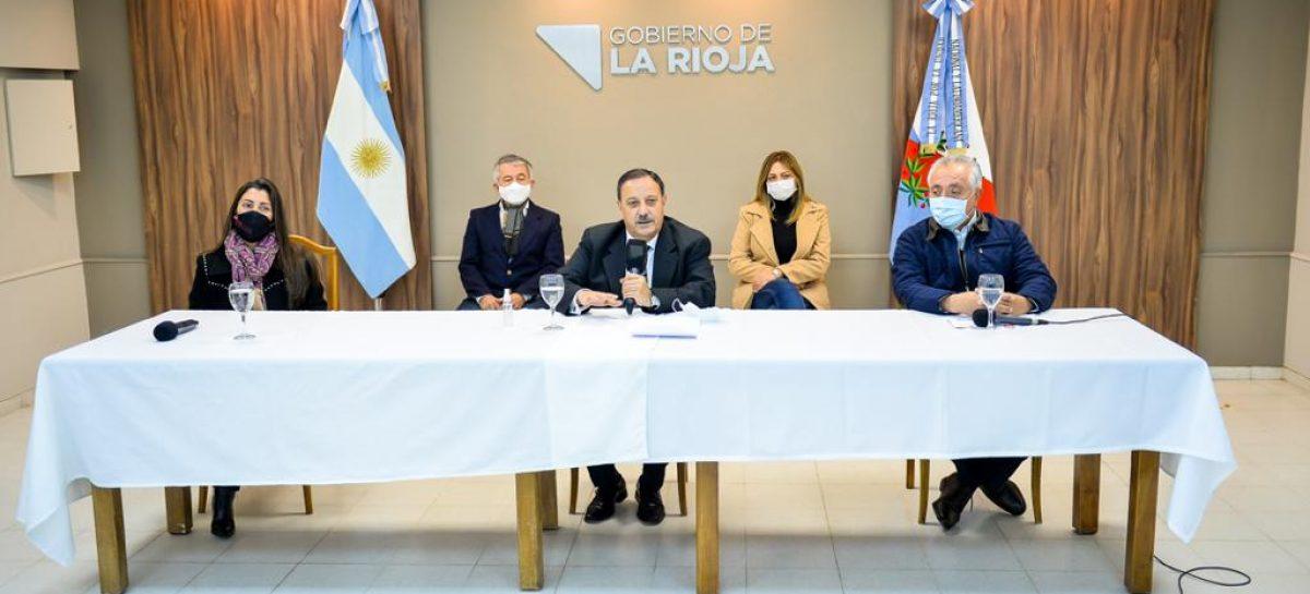 QUINTELA DESPEGÓ A LA VISITA PRESIDENCIAL DEL REBROTE DE COVID-19
