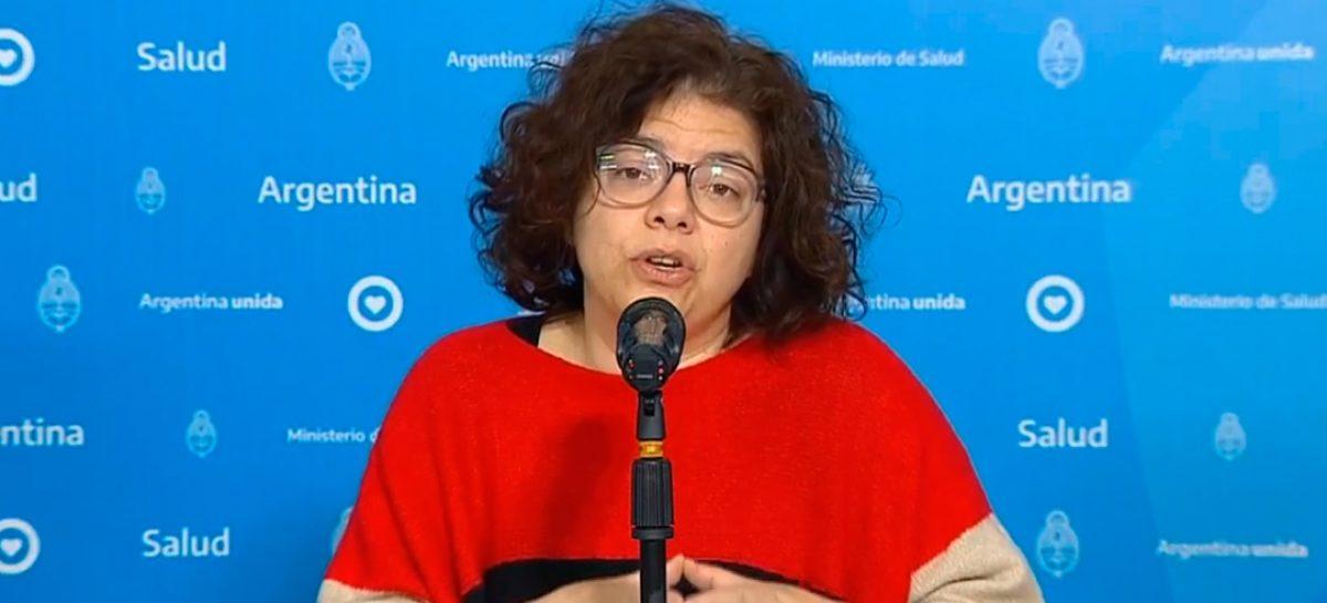 TRAS LA SALIDA DE GINÉS, ASUME CARLA VIZZOTTI COMO MINISTRA DE SALUD DE LA NACIÓN