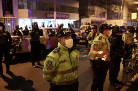 TRAGEDIA EN PERÚ. 13 MUERTOS EN UNA FIESTA CLANDESTINA EN UN BOLICHE