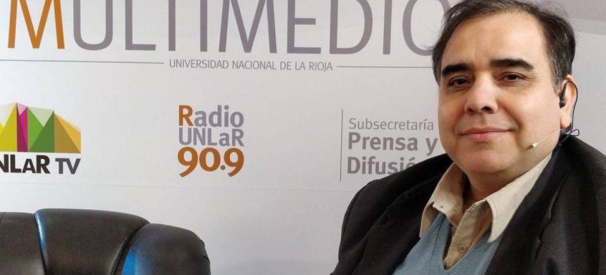 LUTO EN LA COMUNICACIÓN RIOJANA. MURIÓ EL LOCUTOR GUSTAVO ARIAS