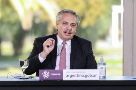 """CORONAVIRUS. PARA ALBERTO FERNÁNDEZ """"LA GENTE SE RELAJÓ EQUIVOCADAMENTE EN EL PEOR MOMENTO"""""""