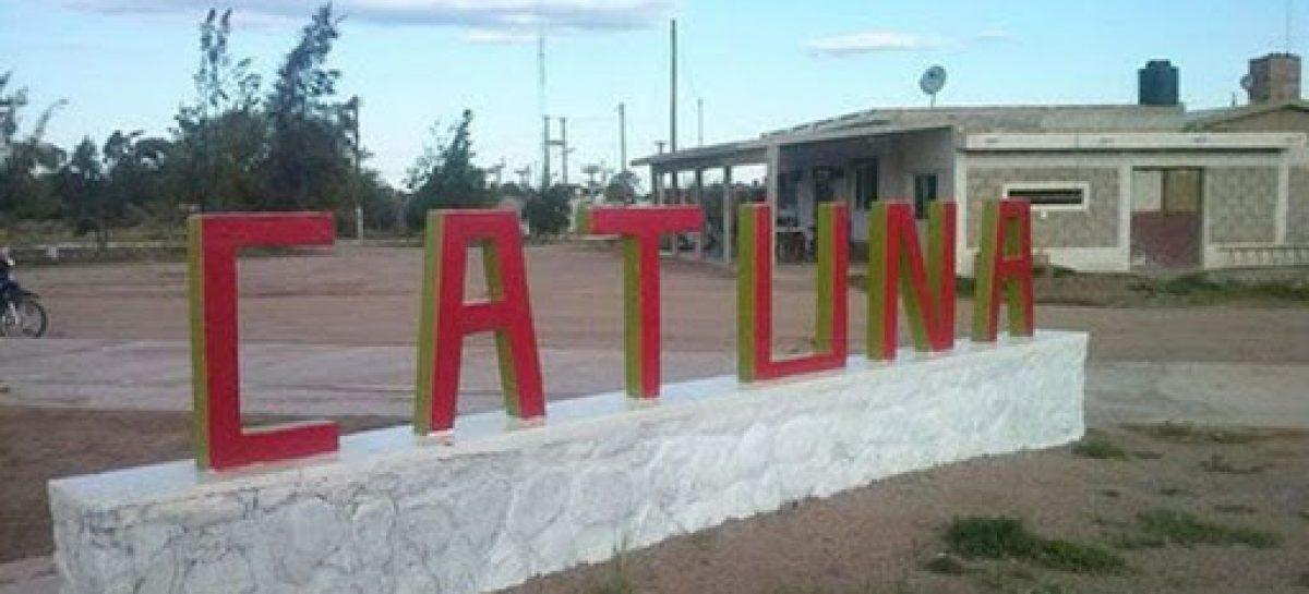 CORONAVIRUS. LA LOCALIDAD DE CATUNA, AISLADA TOTALMENTE POR 72 HORAS