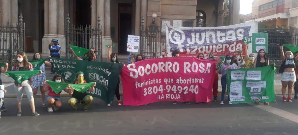 LA RIOJA TUVO SU PAÑUELAZO A FAVOR DEL ABORTO LEGAL, SEGURO Y GRATUITO