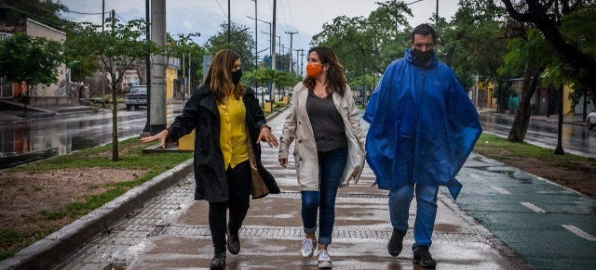 29 MILÍMETROS DE AGUA CAYERON ESTE JUEVES EN CAPITAL