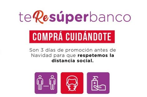 ARRANCÓ 'TE RE SUPER BANCO'. REINTEGRO DE HASTA $2.000 EN COMPRAS