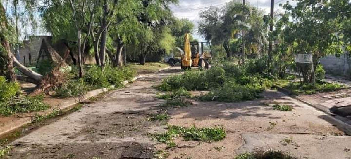 DECLARAN LA EMERGENCIA CLIMÁTICA EN CHAMICAL TRAS UN TORNADO