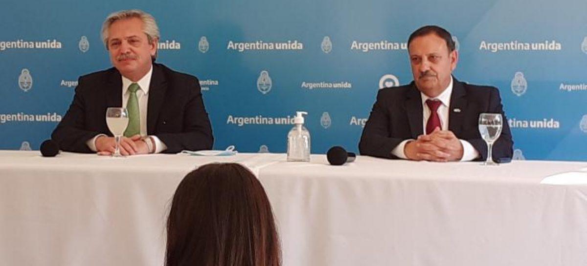 ALBERTO, QUINTELA Y GOBERNADORES DEFINEN ARRANQUE DE LA VACUNACIÓN