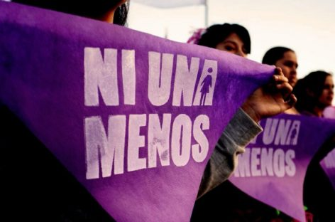 COLECTIVOS FEMINISTAS MARCHAN POR EL FEMICIDIO DE NOELIA ALBORNOZ