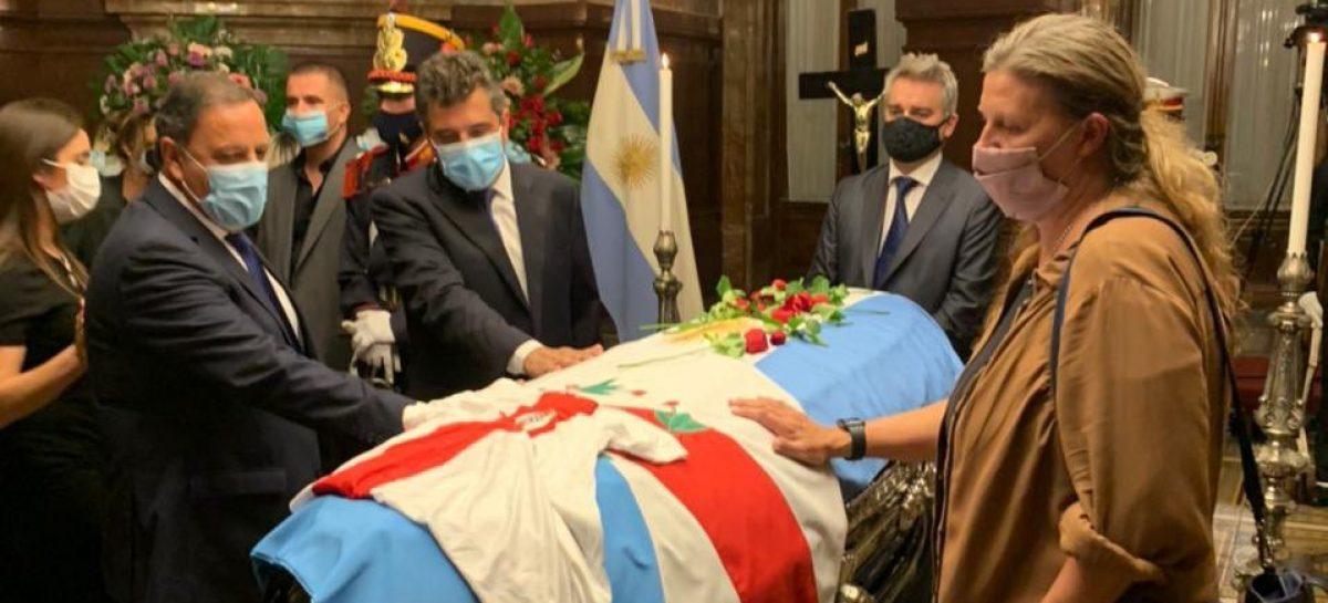 """MENEM FUE UN ESTADISTA,  UN HOMBRE QUE QUISO LO MEJOR PARA ARGENTINA"", DIJO QUINTELA"