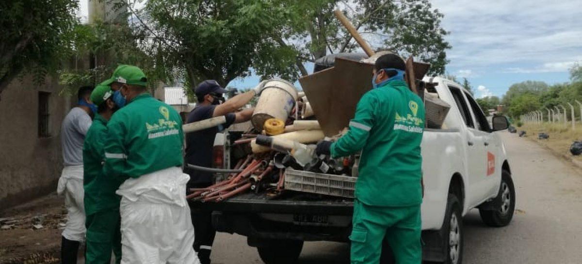 EL 'PROTOCOLO DENGUE' ABARCA 9 MANZANAS A LA REDONDA DE UN POSITIVO