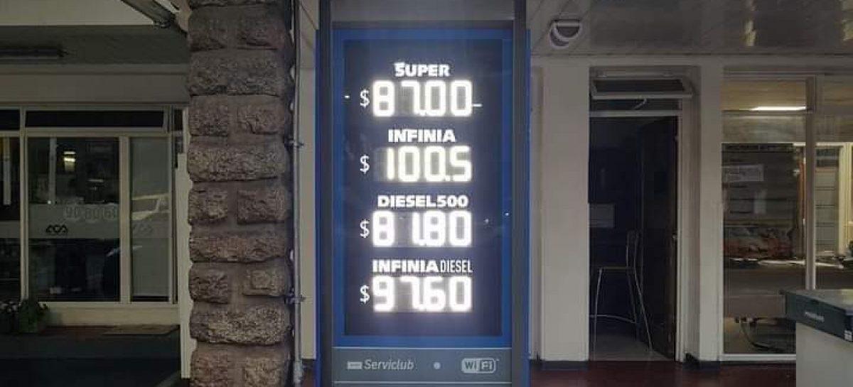 EN LA RIOJA, LA NAFTA PREMIUM YA SUPERÓ LOS $100 EL LITRO