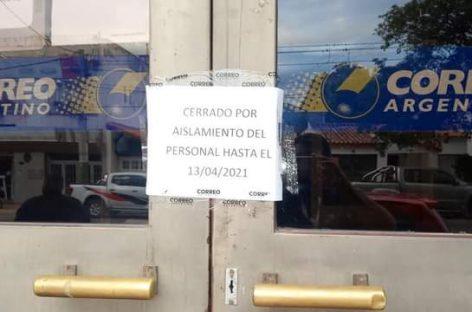 COVID. EL CORREO ARGENTINO CERRADO HASTA EL 13 DE ABRIL