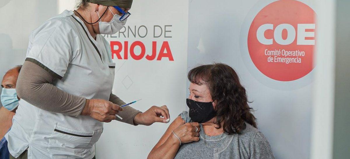 COVID. LA RIOJA YA VACUNÓ AL 61% DE SU POBLACIÓN MAYOR DE 18 AÑOS