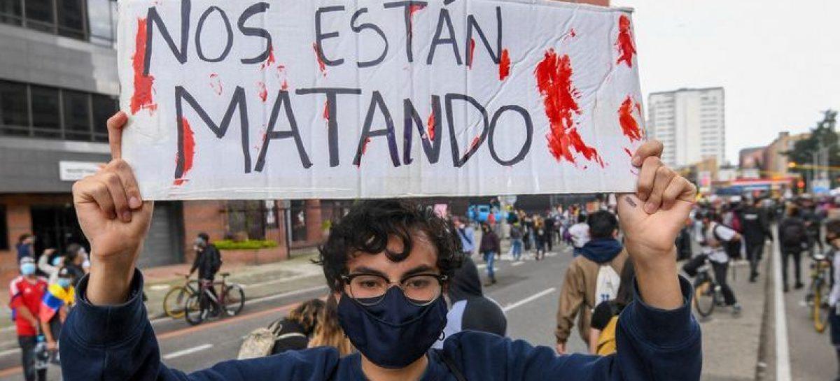 """""""EN COLOMBIA SE ESTÁN VIOLANDO LOS DERECHOS HUMANOS"""""""