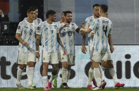 ELIMINATORIAS. ARGENTINA NO PUDO CON CHILE E IGUALÓ 1 A 1