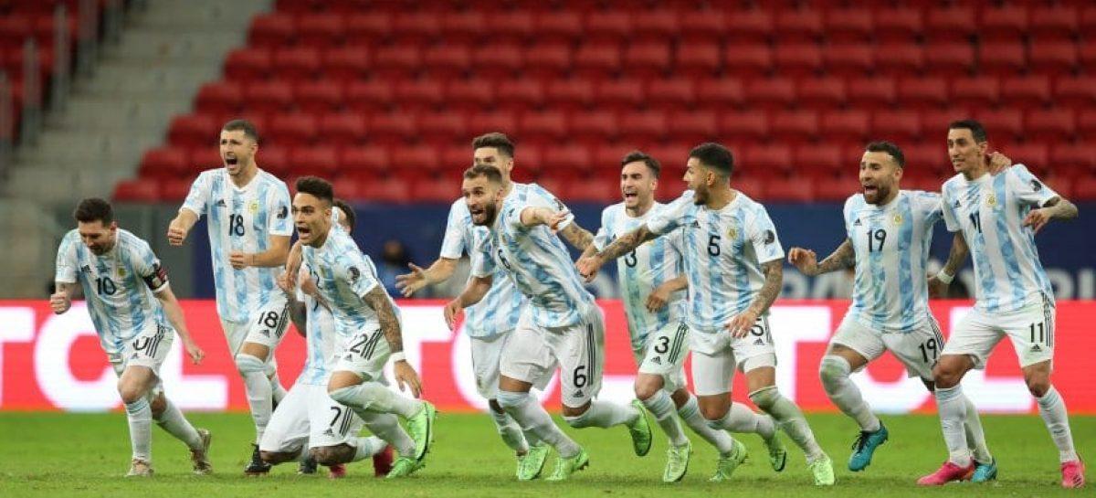 COPA AMÉRICA. ARGENTINA  ES FINALISTA