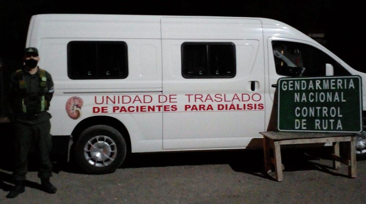 TRAFICABAN DROGAS AL INTERIOR EN LOS TRASLADOS DE PACIENTES PARA DIALISIS